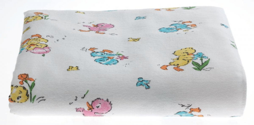 Newborn Baby Blanket - Baby Ducks