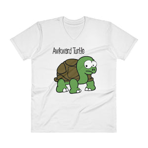 Awkward Turtle Men's V-Neck Tee