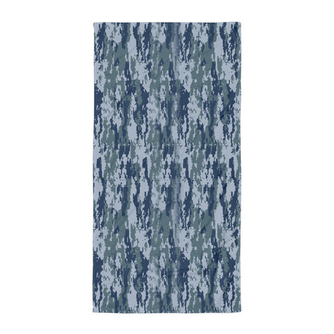 Digital Camo Beach Blanket