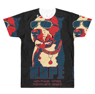 T-shirt - Dye Sublimation - HOPE RWB- Black - Mens