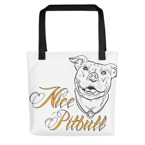 Beach Bag - Nice Pitbull