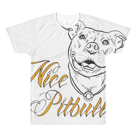 T-shirt - Dye Sublimation - Nice Pitbull