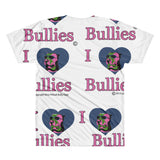 T-shirt - Dye Sublimation - I love Bullies