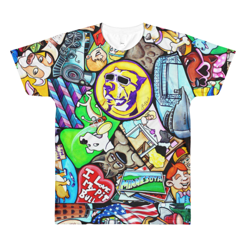 T-Shirts All over print - Mens