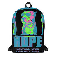 Bags - Backpack - HOPE - Black Neon