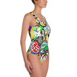 Swim Wear - One Piece Swim Suit