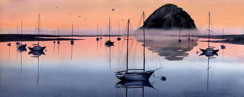 Evening at Morro Bay II