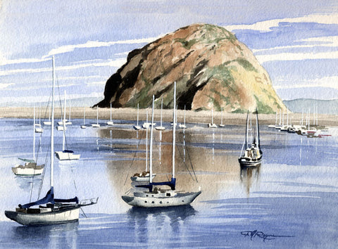 Harbor at Morro Bay