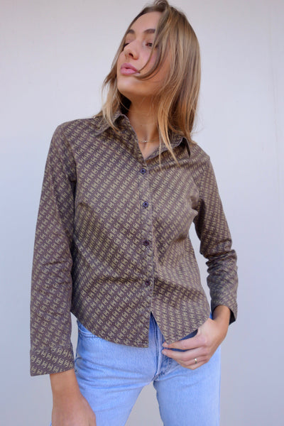 VINTAGE CHANEL SHIRT - MIISHKA Vintage Clothing