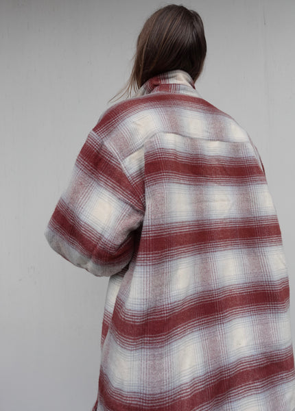 VINTAGE FLEECE SHIRT JACKET