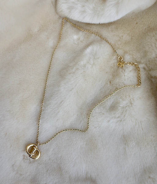 VINTAGE CHRISTIAN DIOR NECKLACE - MIISHKA Vintage Clothing