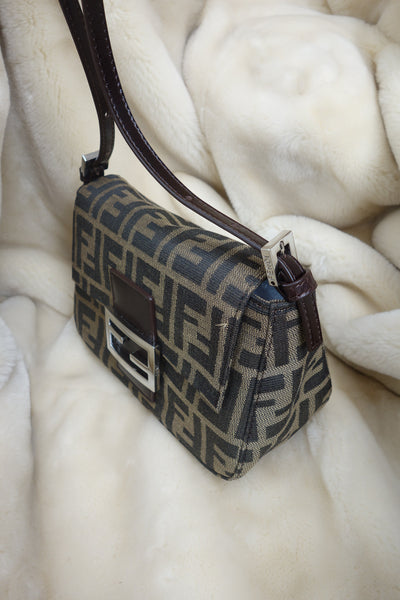 VINTAGE MINI ZUCCA BAG BY FENDI