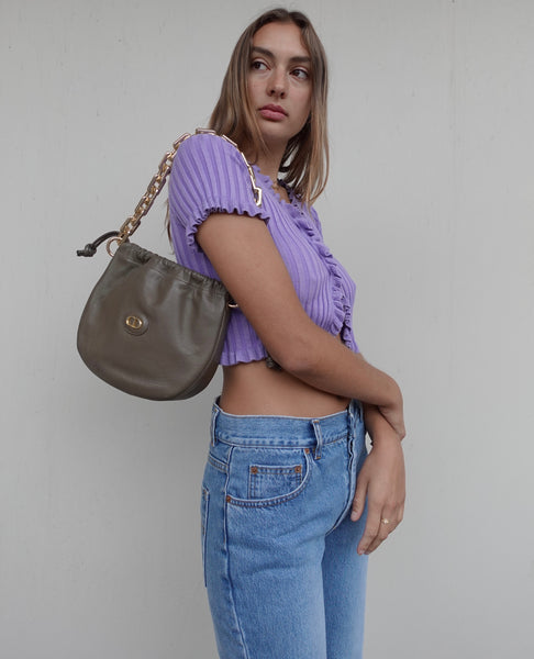 VINTAGE TESSUTO HOBO BAG BY PRADA