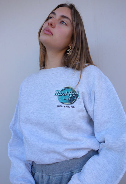 VINTAGE 'HARD ROCK CAFE HOLLYWOOD' SWEATER