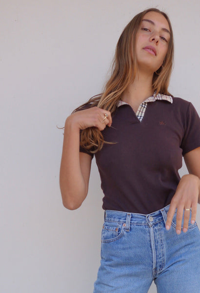 VINTAGE BURBERRY POLO - MIISHKA Vintage Clothing