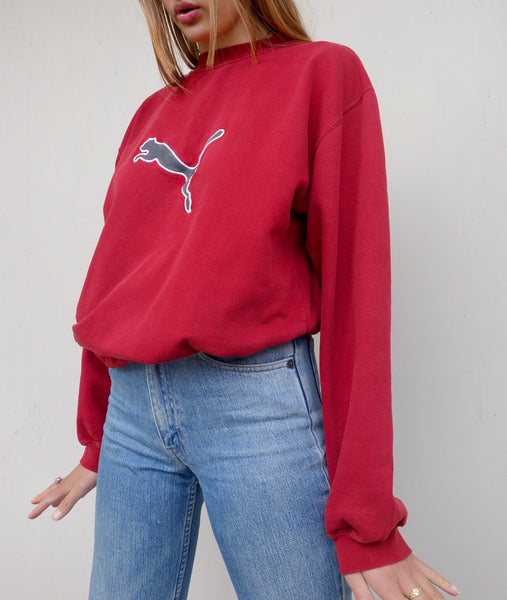 VINTAGE PUMA SWEATER - MIISHKA Vintage Clothing