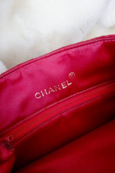 VINTAGE SATIN MINI BAG BY CHANEL