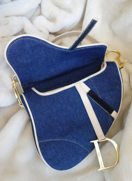 VINTAGE SADDLE BAG BY DIOR