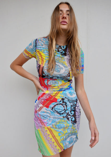 VINTAGE VERSACE DRESS - MIISHKA Vintage Clothing