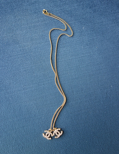 VINTAGE 'CC' NECKLACE - MIISHKA Vintage Clothing
