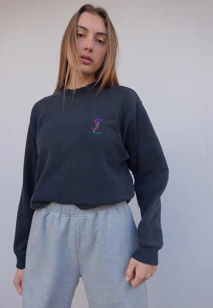 VINTAGE YVES SAINT LAURENT SWEATER - MIISHKA Vintage Clothing