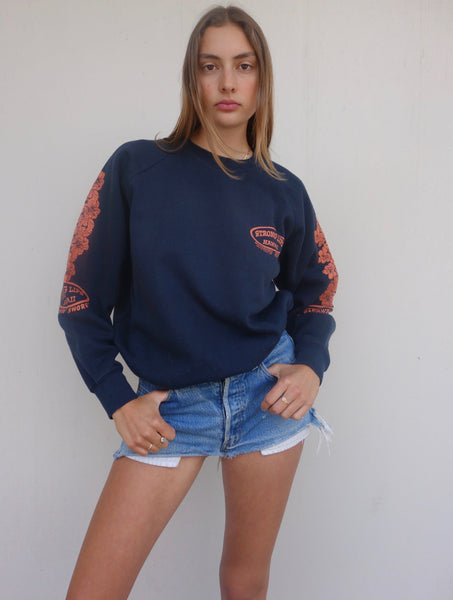 VINTAGE 'STRONG LIPS HAWAII' SWEATER
