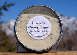 Lavender Orange Sugar