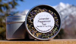 Lavender Peppermint Tea
