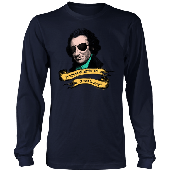 Thomas Paine Quote Long Sleeve Shirt