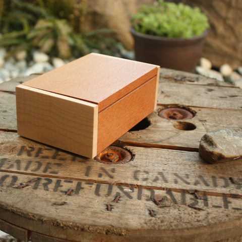 Lacewood & Tiger Maple Box