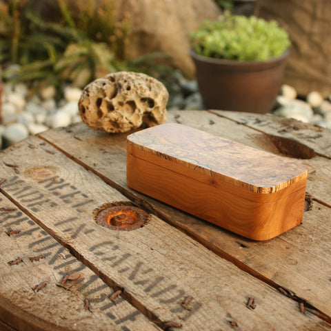 Spalted Maple & Apple Box
