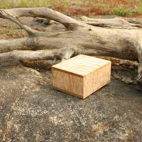 Quilted Maple Box