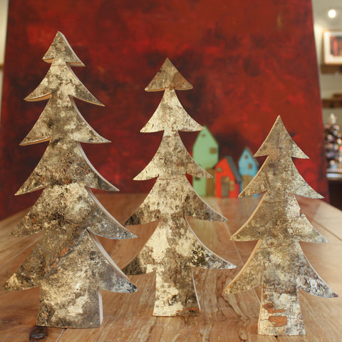 Bark Trees - Set of Three