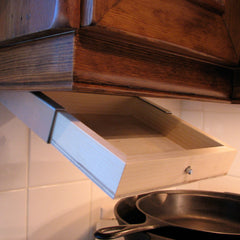 kitchen cabinet hidden compartment