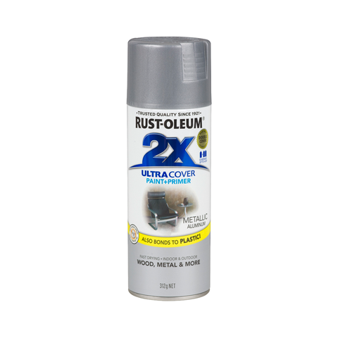 Rustoleum Ultra Cover 2X Metallic Spray [product_vendor- Paint World Pty Ltd