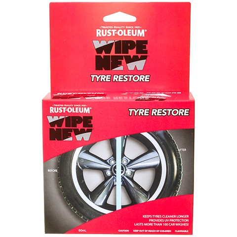 Rust-Oleum Wipe New Tyre Restore Automotive [product_vendor- Paint World Pty Ltd