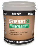 Gripset 51 Solvent Free Bitumen Rubber Membrane - Gripset - Waterproofing - Paint World Stores