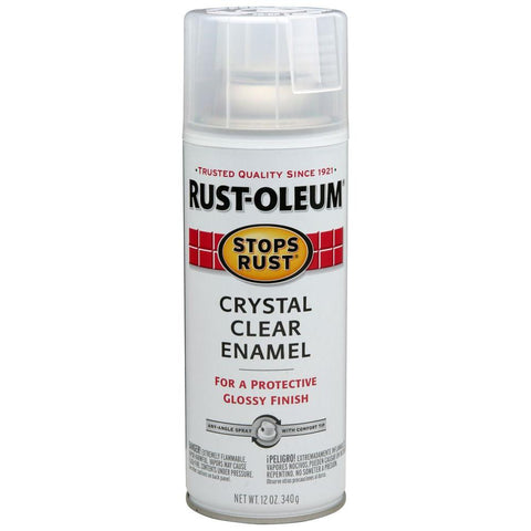 Rustoleum Stops Rust Clear Gloss Spray [product_vendor- Paint World Pty Ltd