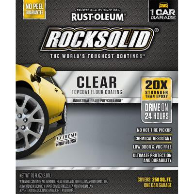 Rock Solid Clear Topcoat - Paint World Pty Ltd