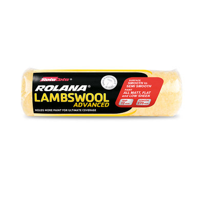 Rolana Lambswool Advanced 3pk 270mmx12mm Accessories [product_vendor- Paint World Pty Ltd