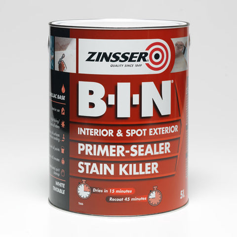 Zinsser B-I-N Primer - Paint World Pty Ltd