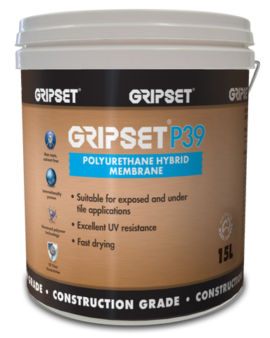Gripset P39 Polyurethene Hybrid Membrane - Gripset - Waterproofing - Paint World Stores