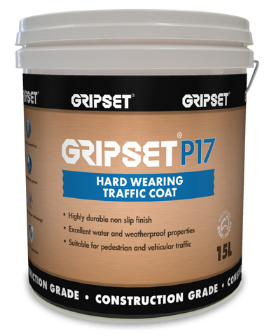 Gripset P17 Hard Wearing Traffic Coat - Gripset - Waterproofing - Paint World Stores