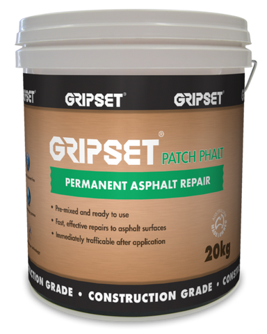 Gripset Patchphalt Permanent Asphalt Repair - Gripset - Waterproofing - Paint World Stores
