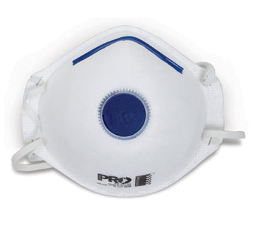 P2 Disposable Dust Mask with Valve (3pk) Accessories [product_vendor- Paint World Pty Ltd