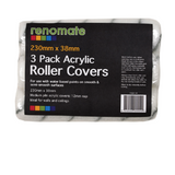 3pk Polyester Roller Covers 230mm - 12mm NAP Accessories [product_vendor- Paint World Pty Ltd