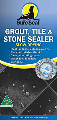 Sure Seal Grout & Tile Sealer - Slow Drying