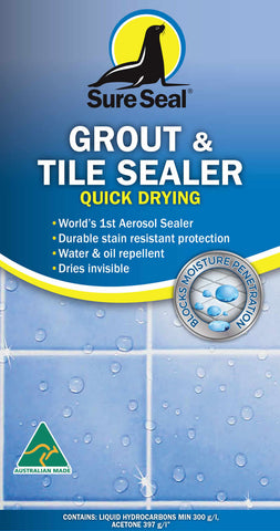 Sure Seal Grout & Tile Sealer - Quick Drying