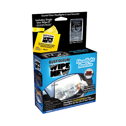 Rust-Oleum Wipe New Headlight Restore Automotive [product_vendor- Paint World Pty Ltd