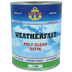 Norglass Weatherfast Poly Clear Clear Solvents [product_vendor- Paint World Pty Ltd